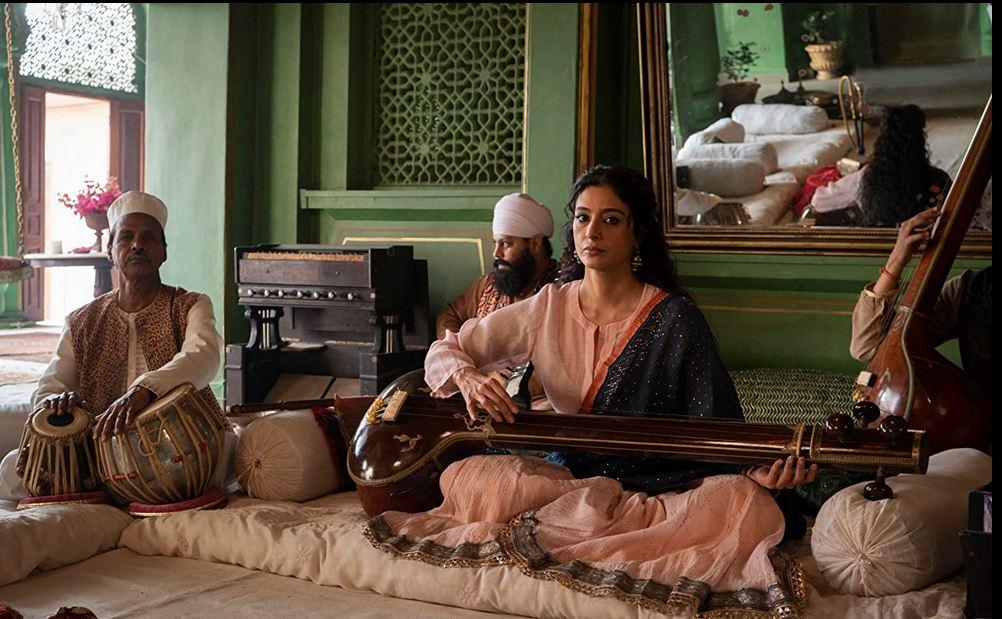 Tabu as Saeeda Bai. Pic courtesy Netflix